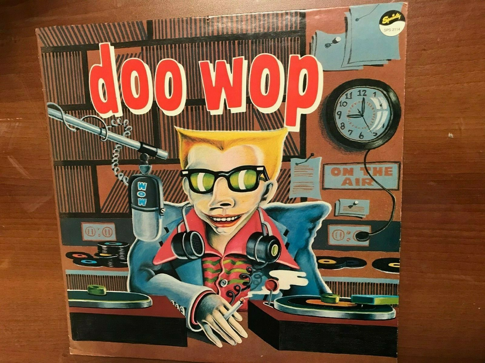 LP VINYL MUSIC RECORD DOO WOP ON THE AIR, SPECIALTY RECORDS NO 2114 - $25.00