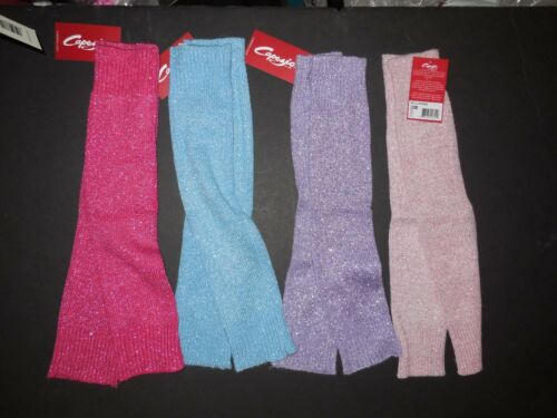 "NWT Capezio LEGWARMERS Ladies 18""  Super Sparkle 3 colors Ballet Glitz #10380"