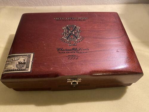 RARE Arturo Fuente Opus X Fuente Fuente Empty Cigar Wooden Cigar Box 9.5x6.5x3 - $29.95