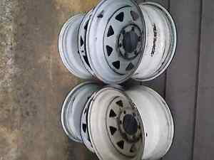 15 x 8 sunraysia rims-6 stud -Nissan Toyota Nerang Gold Coast West Preview
