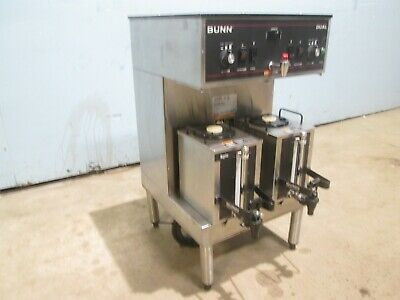 Bunn Dual 3s Mech Sf Commercial Hd Dual Coffee Brewer Machine Whot Water Tap