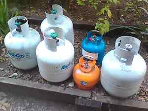 Gas bottles out of date Cedar Grove Logan Area Preview