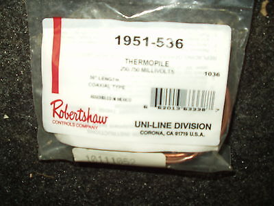 Robertshaw 1951-536 Thermopile Coaxial Type 36