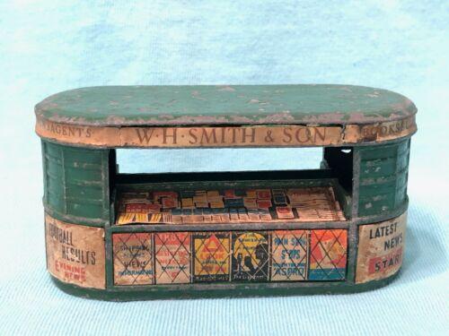 Vintage Cast Metal W.H. Smith & Son Miniature Newsagents News Magazine Stand