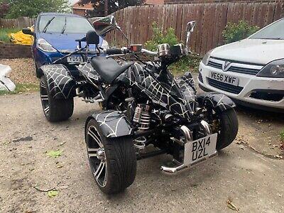 L@@K 2014-14 SPY RACING SPY250F1A 250cc SPIDER-MAN QUAD L@@K