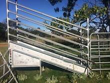Cattle panels , crush and head bailer, and ramp Armidale 2350 Armidale City Preview