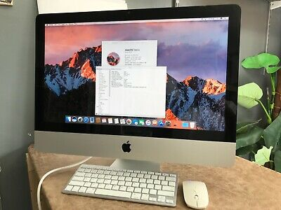 iMac 21.5 Quad Core i5  2.5GHz 8GB 500GB wireless working 2 months warranty!