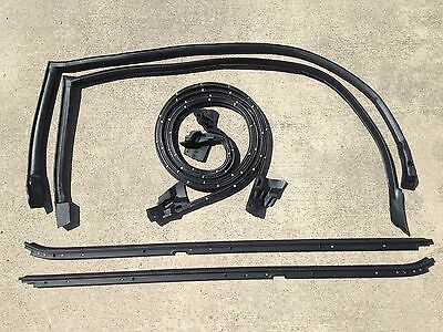 84-87 Buick Regal Grand National 6 pc Hard-Top Weatherstripping Seal -