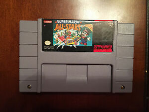 Super Nintendo  game / Super Mario All Stars