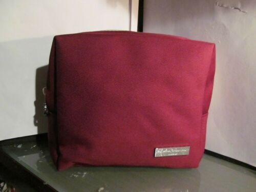 ALITALIA AIRLINE FERRAGAMO amenity kit bag MAGNIFICA class makeup cosmetic case