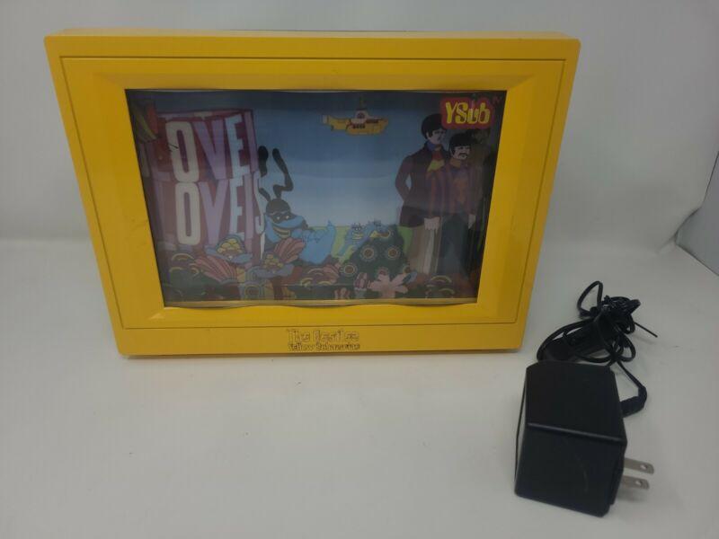 Rare The Beatles Yellow Submarine VIRTUAL VISION YSUB TV Screen 2004 Works READ