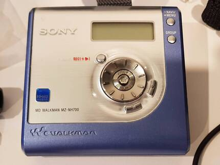 SONY HI-MD MINIDISC WALKMAN RECORDER MZ-NH700 HiMD PLUS EXTRAS