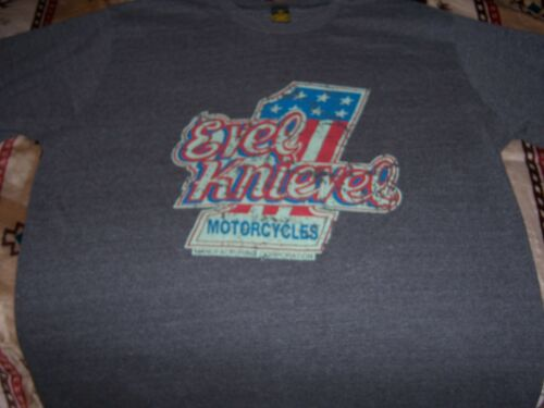EVEL KNIEVEL #1 MOTORCYCLES SHIRT XL