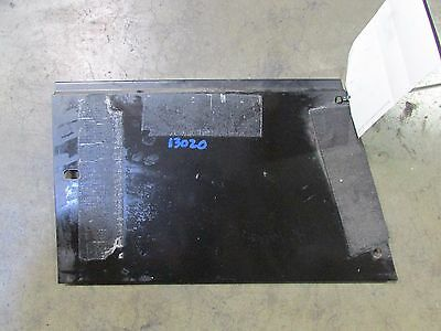 Lamborghini Murcielago, RH, Right Kick Panel Plate, Used, P/N 0078009327