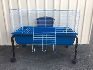Guinea Pig / Rat cage $90 + $35 for the trolley; eftpos avail Meadowbrook Logan Area Preview