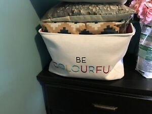Be colourful large Storage bin from winners obo