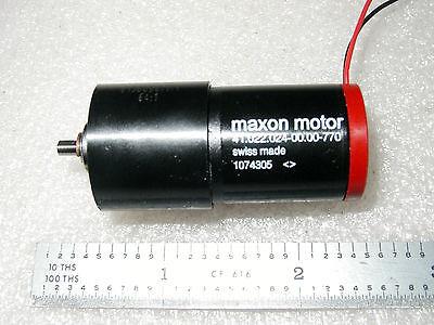 Maxon 12vdc 2 Watt 90 Rpm Precision Gear Motor - 1 Pc
