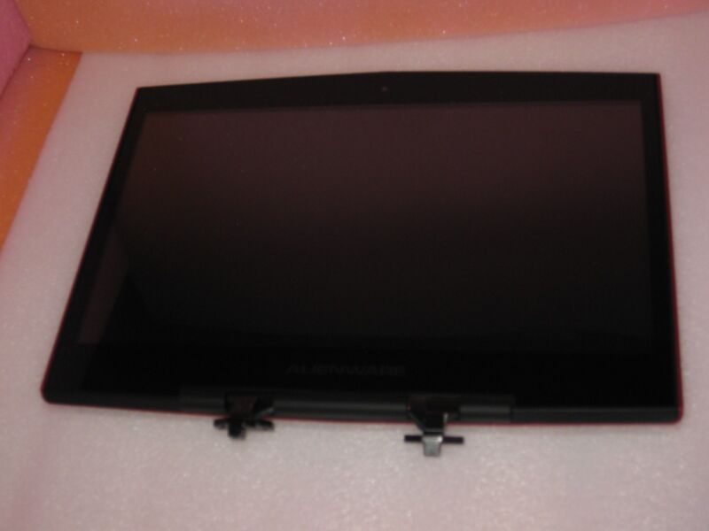 """Red New Dell Alienware M14x 14"""" Lcd 1366x768 Screen Glossy Assembly Wlan"""