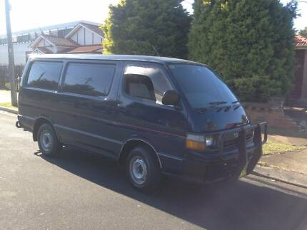 Toyota Hiace 1990 Manual, a/c, 364,180 KMS, PETROL, TRADE IN!!! Lidcombe Auburn Area Preview