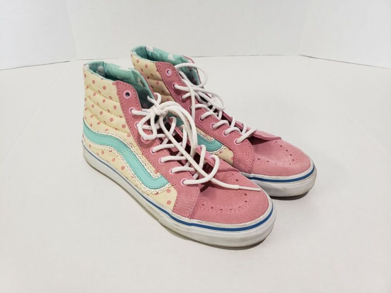 Toy Story Vans Sneakers Bo Peep Women 7 Us Woody Buzz, Preowned. NO BOX