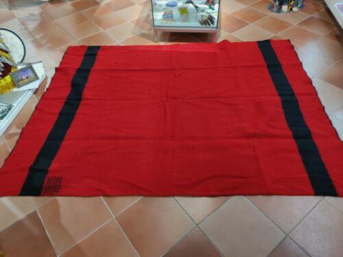 Hudson's Bay Red 5 Point Blanket