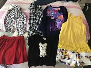 Girls clothes lot size 8-11/12