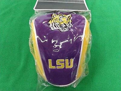 NEW Datrek LSU Tigers 460cc Driver Headcover Sock Style College Head Cover