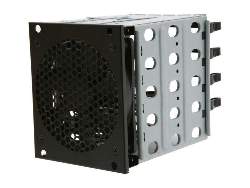 "Rosewill RSV-Cage 4 x 3.5"" HDD Hard Drive Cage Tray for RSV-R4000, RSV-L4000"