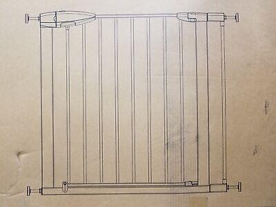 Munchkin Easy Close WHITE Metal Baby Safety Gate (Damaged Box)