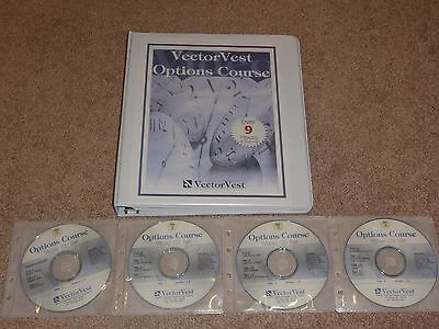 VectorVest Options Trading CD Course Online Academy Optionetics DVD forex eminis
