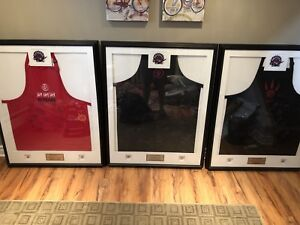 Team Signed Toronto Raptors Aprons