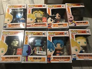 Funko Pop! Dragon ball z Dbz goku broly yumcha Vegeta