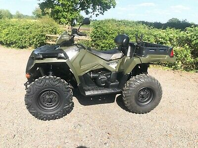 2016 Polaris Sportsman 570 UTE ATV QUAD Road Legal 2 Seater Power Steering FSH
