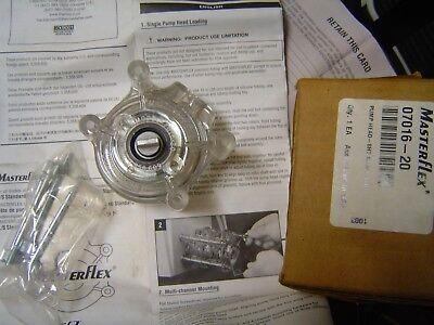 Masterflex 07016-20 Tubing Pump New Pump Head Metering Pump Fluids Chemicals Bio