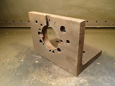 6 X 6 X 8 Wide Right Angle Mill Milling Set-up Fixture Plate Used Good Cond