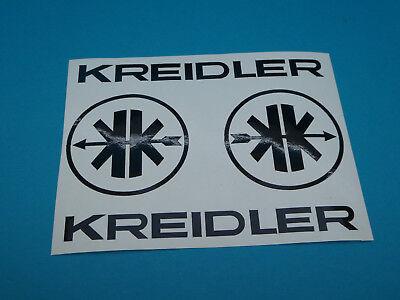 tzug + Logo  MF Aufkleber Sticker Schriftzug Dekor Schwarz (Online-handel)