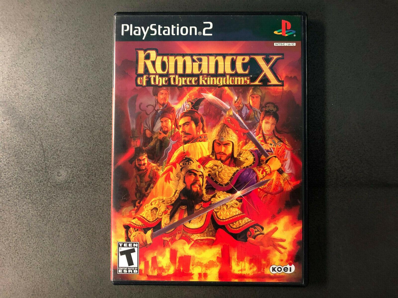 Romance Of The Three Kingdoms X Sony PlayStation 2 PS2, 2005 CIB RARE Tested  - $24.50