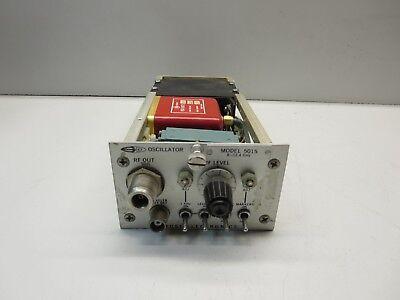 Kruse Electronics Model 5015 Oscillator 8 - 12 Ghz Unit Not Tested