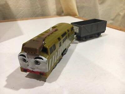 Motorized Diesel 10 w/ Troublesome Truck for Thomas & Friends Trackmaster