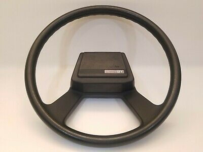 1984-1985 Toyota Celica GT GTS Convertible black steering wheel horn button