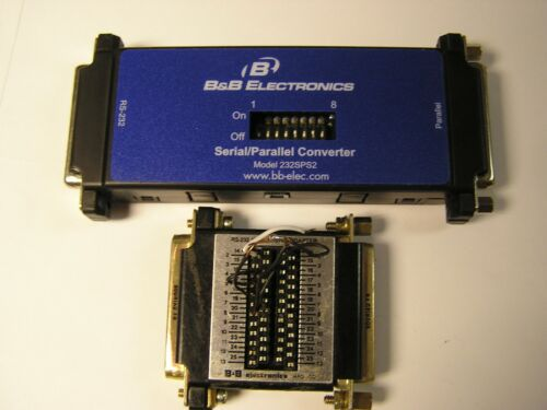 Serial to Parallel Converter,  B&B ELECTRONICS 232SPS2