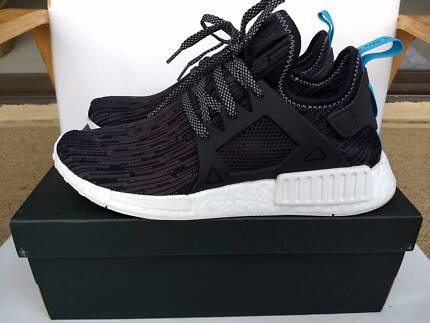 Adidas NMD XR1 Primeknit Shoes Glitch Camo Black US10