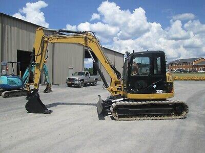 Cat 308d Used Excavator Hydraulic Cab Ac 3rd4th Valves Quick Couple Bucket