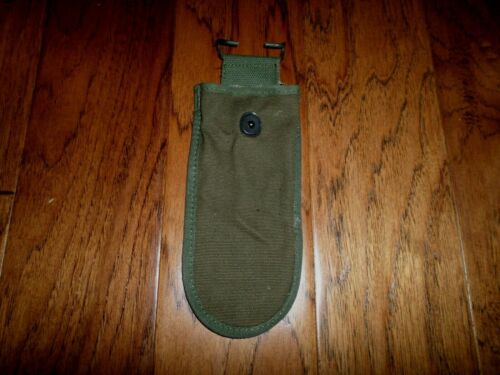 U.S Army Vintage Issue Green Canvas Belt Pouch For Wire Cutters M-1938 Style