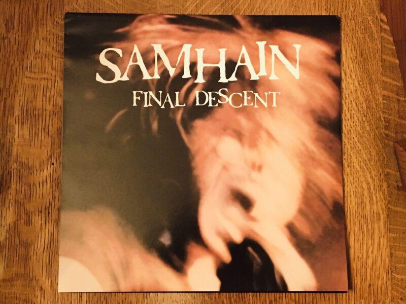 SAMHAIN Final Descent Unofficial LP! ARGON MUSIC. 2004. MISFITS. DANZIG!