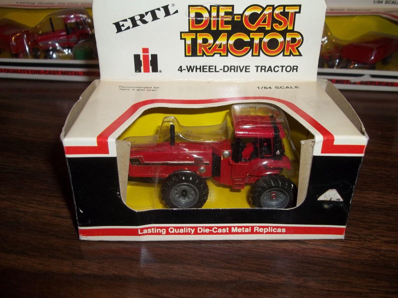 ERTL 1/64 SCALE DIE-CAST INTERNATIONAL 6388 2+2 4-WHEEL-DRIVE TRACTOR PART#1526