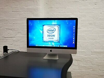 🍎Apple iMac A1312 27 XEON QUAD CORE ✔UPGRADED: SSD, RAM, CPU ✔Catalina Ⓘ🅜🅐🅒