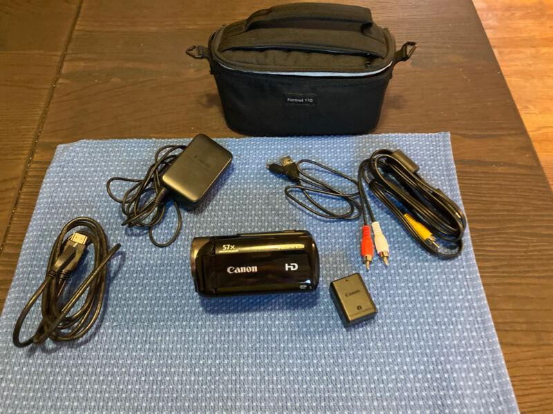 Canon HF R500 Camcorder -  Black