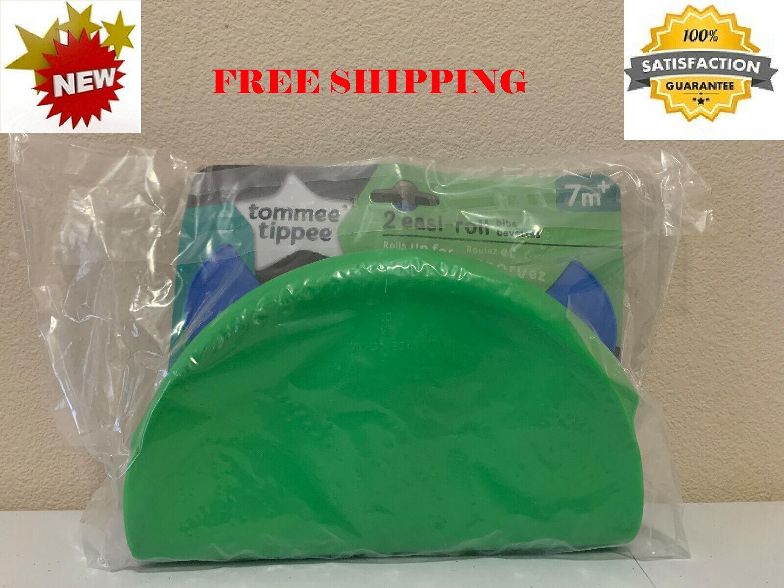 Tommee Tippee Easi-Roll Up Bib, BPA-free Crumb & Drip Catche