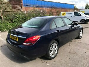 2017 MERCEDES C200 SE EXECUTIVE 2.0 PETROL AUTO 100% UNRECORDED DAMAGED SALVAGE